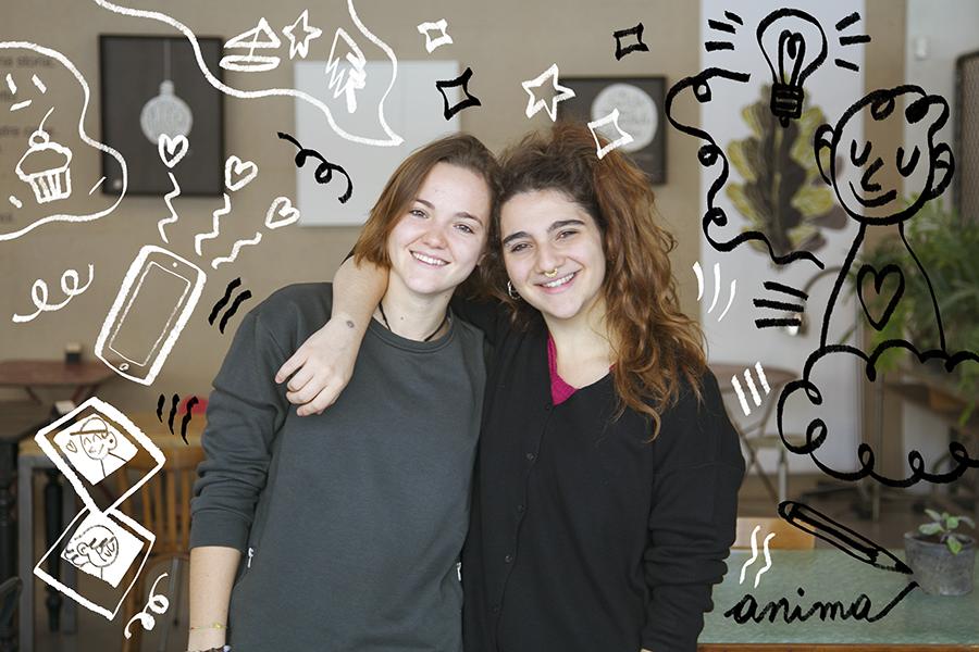 La Polveriera è Chiara e Alessia
